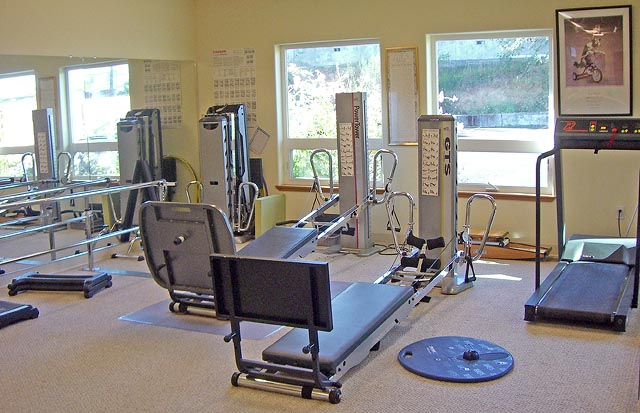 Central Coast Physical Therapy workout equipment