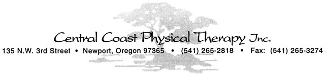 Central Coast Physical Therapy Banner
